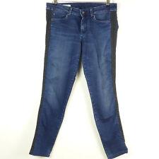 PEPE JEANS Jeans Röhre Slim Fit Denim Blau Schwarz CHER DLX Gr. W29 L32 (A23)