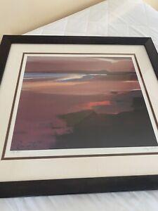 Pam Carter 'Beach At Sunset' 688/850 450mm X 400mm