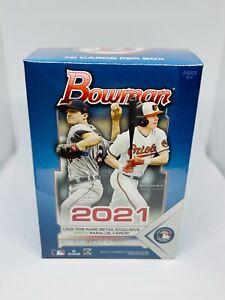 2021 Bowman Topps MLB Baseball Blaster Box Brand New Factory Sealed