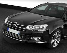 CITROEN C5 MK III RD TD Saloon Estate 08- CHROME Kit Front Grille Covers 3M Trim