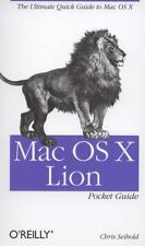 Mac OS X Lion Pocket Guide by Chris Seibold