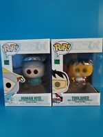 South Park Funko Pop #19 Human Kite And #20 Toolshed