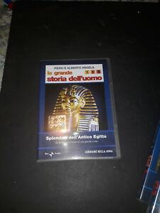 dvd piero e alberto angela -la grande storia dell'uomo