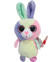 "X2 NWT Ty Mini Beanie Boos Basket Beanies Lot Set 4/"" Bloom Bunny Lala Lamb Gift"