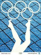 London 2012 Olympics Anthea Hamilton Divers - Poster 60cm X 80cm
