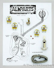 NEW Les Paul Pots Switch & Wiring Kit for Gibson Guitar Complete with Diagram
