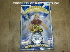 Rare Jakks Wwe Ric Flair Signed 1/600 Times Square Eclusive Action Figure Tna