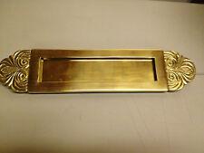 Letter Plate - Solid Brass - Rare Simona Design