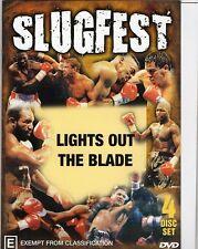 SLUGFEST SERIES VOL.3 & VOL.5  - TWO 4 DISC SETS BOXING DVD