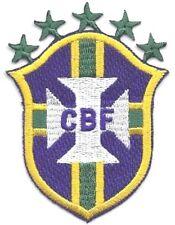 Brasil Football/Soccer Parche de hierro en o cose en Copa del Mundo 2018
