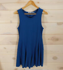 Urban Outfitters Kimchi Blue Womens Sz M Seamed Ponte Skater Dress Fit and Flare