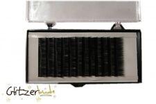 Mink Lashes (Nerzart), Wimpern Extension, black, schwarz, 10 mm oder 12 mm NEU