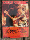 COLD CHISEL SIGNED BOOK.5 AUTOGRAPHS from BAND MEMBERS.CHARITY SALE Barnes Moss