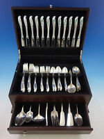 Wishing Star by Wallace Sterling Silver Flatware Set for 12 Service 80 pieces