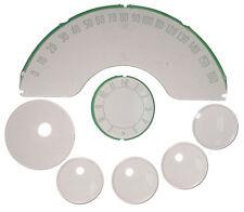 NEW Trim Parts Instument Gauge Face Lens SET / FOR 1959-62 C1 CORVETTE / 5143