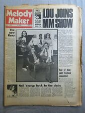 MELODY MAKER 18th August 1973 ~ Roxy Music ~ Robert Fripp ~ Rolling Stones!