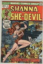 Shanna the She-Devil #2 February 1973 FN Steranko Cover