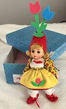 """New ListingMadame Alexander Pre-Owned 8"""" doll Wizard of Oz Munchkin Peasant 140444 with Box"""