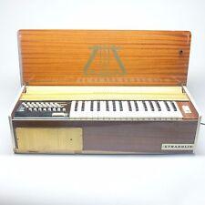 Rare vintage Stradolin 40 Deluxe Electric Accordion AS IS
