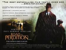 ROAD TO PERDITION Movie POSTER 30x40 Tom Hanks Paul Newman Jude Law Tyler
