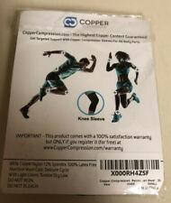 Copper (knee Sleeve) Black