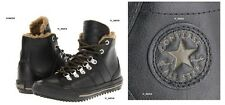 Converse Chuck Taylor Winter BootsJuniors Sneaker Leather Sherpa Black 5 / 7 usa