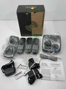 Uniden DECT1480-3A 6.0 Cordless (3) Handset Digital Answering System Phones