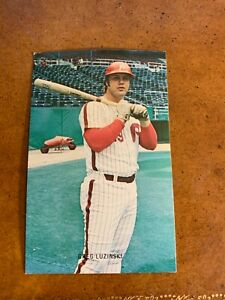 1970s Philadelphia Phillies Greg Luzinski Color Baseball Postcard