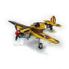 Handmade 1941 Curtiss Hawk 81A Aircraft Tinplate Antique Style Metal Model