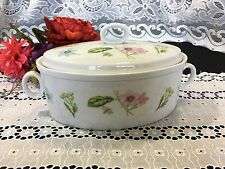 "Georges Briard ""Botanica"" Oval Covered Casserole"