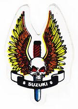 Skull & Dagger Suzuki Sticker Motorcycles