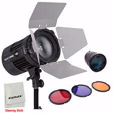 100W Radio Wireless COB LED Studio Spotlight Ra 95 + NG-10X Focus Lens + Filter