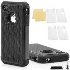 iPhone 4 / 4S TPU Bumper Silikon Case Schutz Hülle Cover Schale Original Outdoor