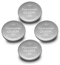 Panasonic CR2032 Lithium 20mm Coin Cell Battery 3V 225mAH CR-2032L/BN *Pack of 4