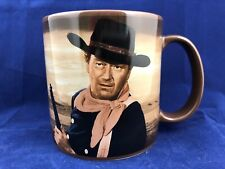 John Wayne 18 Ounce Mug 'Out Here A Man Settles His Own Problems' Vandor LLC