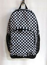 Vans Alumni Pack 3 Black/White Checkers Unisex Backpack (VN0A46NELOA) - NWT