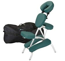 Earthlite Vortex Lightweight Portable Massage Chair Package NS Teal W/Pad NEW