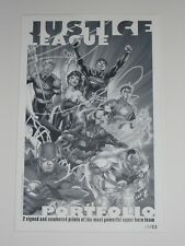 2012 SDCC JUSTICE LEAGUE ART PRINT PORTFOLIO BY JIM LEE & ALEX SINCLAIR 09/52