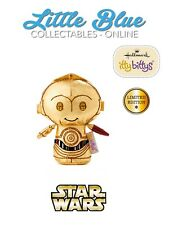 * LIMITED EDITION * C-3PO * Hallmark Itty Bittys Bitty * BNWT * Star Wars * Red