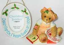 CHERISHED TEDDIES 2005 GIFT SET, 4002836, USA EXCLUSIVE, LE, FIGURINE/FRAME, NIB