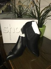 Top Shop Black Ankle Boot Size 5