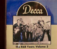 DECCA RECORDS 'The R&B Years' - Volume #3 - 24 VA Tracks