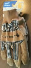 Work Gloves Carhartt LARGE Men's Insulated Suede with Knit Cuff A512 THINSULATE