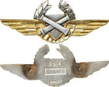 Brevet d'Observateur, A.L.A.T, dos lisse plat, attache PIN'S, Drago GS 4 (10081)
