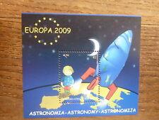 KOSOVO 2009 ASTRONOMY MINI SHEET MINT STAMP