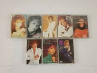 Reba McEntire Cassette Tapes Country Music Lot Of 8 Rumour Has it,Read my Mind,