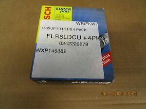 BOSCH SPARK PLUG  FLR8LDCU  0242229878 AUDI BMW SAAB SKODA VAUXHALL 4 PACK