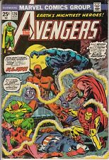 Avengers 126 1974 Bronze Age KLAW Cover Infinity War MVS intact Dave Cockrum