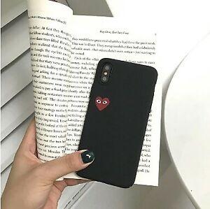 Case For Apple iPhone XS / iPhone XR / iPhone XS Max Pattern Back Cover Heart