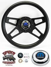 """1982-1991 DODGE PICKUP steering wheel TILT MOPAR 13 1/2"""" BLACK 4 SPOKE"""